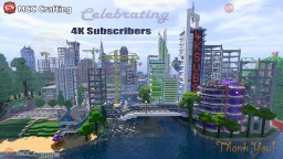Mcc Crafting Celebrating 4k Youtube Subscribers Minecraft Project