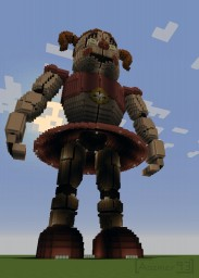 Re-Model Circus Baby ( FNAF : Sister Location ) Minecraft Map & Project