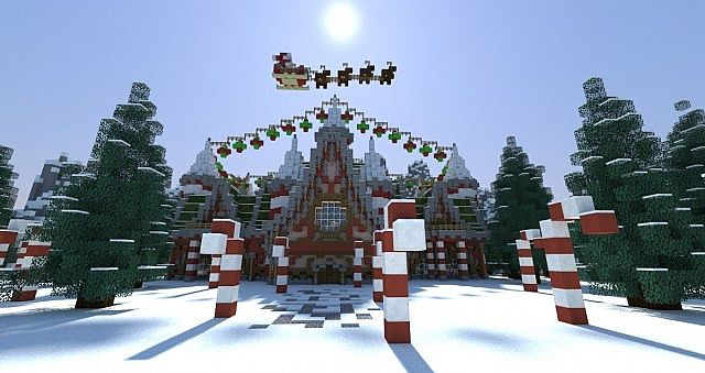 Christmas Minecraft World.Best Mineimator Minecraft Maps Projects Planet Minecraft