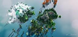 Fáfnir's Rest - How To Train Your Dragon - 3Kx3K Custom Terrain