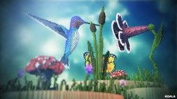 Hummingbirds Macrocosm Minecraft Map & Project