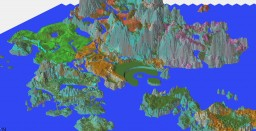 Broken isles [World of Warcraft - Legion]  a new project begins Minecraft Project