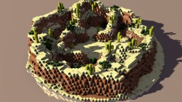 Mesa Themed PVP Map Minecraft Map & Project