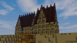 Medieval Port Administration Minecraft Map & Project