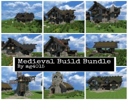 Medieval Build Bundle #WeAreConquest Minecraft