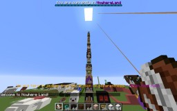 The Biggest Tower of Heads Ever. Minecraft Map & Project