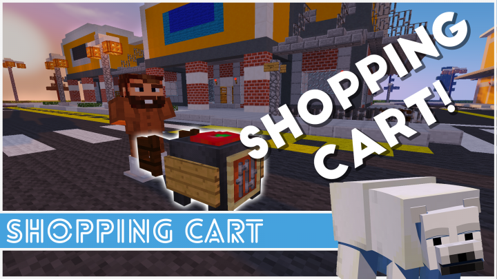Minecraft how to make a shopping cart minecraft project for Craft com online shopping