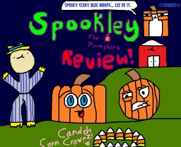 SSBM: Spookley the Square Pumpkin Review! Minecraft Blog Post