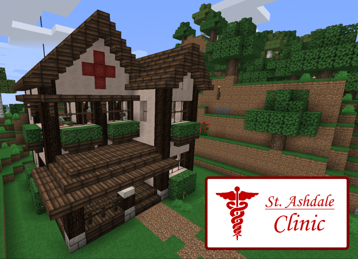 how to make a clinic in minecraft