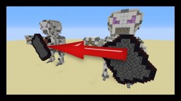 [UPDATE #2.3] Moving Armed Redstone/Command Block Robot!! Minecraft Project