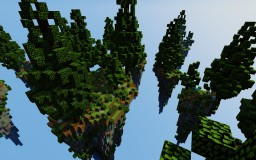 Minecraft - SkyWars - Lonely Forest Minecraft Map & Project