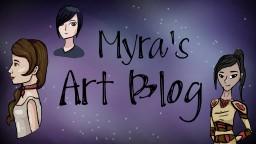 Myra's New and Improved ART BLOG!