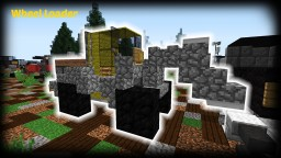 Minecraft - How to build a Wheel Loader Minecraft Project