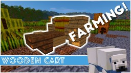 Minecraft - How To Make A Wooden Cart Minecraft Map & Project