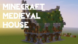 Medieval House (No Interior) | By Slushee Minecraft Map & Project