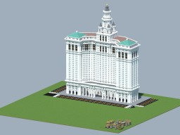 Manhattan Municipal Building Minecraft Project