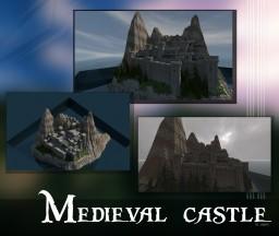 Beautiful Medieval Castle Minecraft