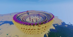 Colosseum Style Arena Minecraft Map & Project