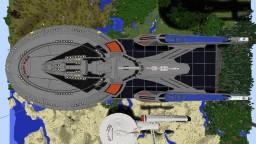 Enterprise E Minecraft Map & Project