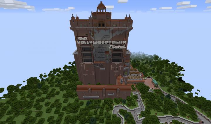 Disney world twilight zone tower of terror minecraft project disney world twilight zone tower of terror gumiabroncs Choice Image