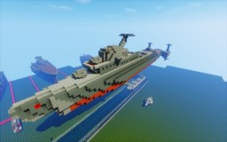 Foton class space destroyer Minecraft Map & Project