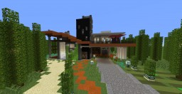 [20+1 Sub Special] Modern House Minecraft Map & Project