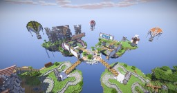 Epic - 4 Servers/Worlds spawn Minecraft Map & Project