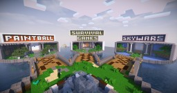 Minigames hub - 6 islands Minecraft Map & Project