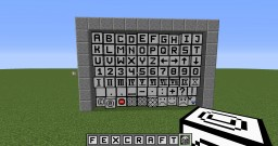 [1.7 - 1.10] [Forge] FAMM - Fex's  Alphabet & More Mod! ||| new HalfBlocks with different depths!