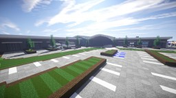 Modern Distribution Centre (on the Greenfield city server!) Minecraft Map & Project