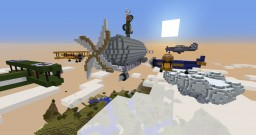Battle In The Heavens Minecraft Map & Project