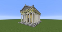Temple of Athena Nike Minecraft Map & Project