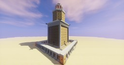 Lighthouse of Alexandria Minecraft Map & Project