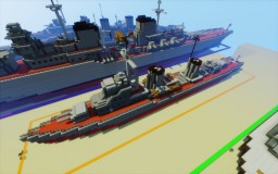 Ognevoi class destroyer Minecraft Map & Project