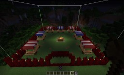 Structure Block Fair Ground (Event Grounds) Minecraft Project