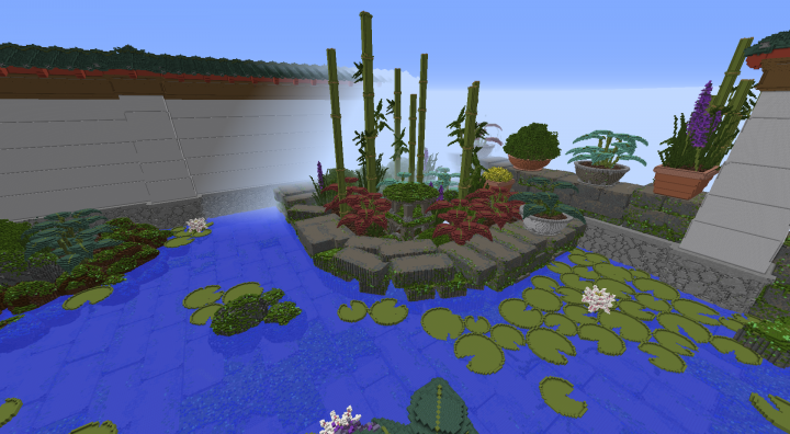 Minecraft Zen Garden the assault on kokodu - zen garden minecraft project