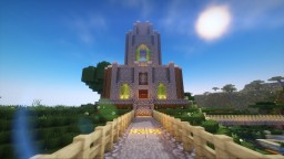 Custom church made to fit vanilla village Minecraft Map & Project