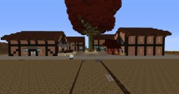 Waterfront Town, Ivytt Minecraft Map & Project