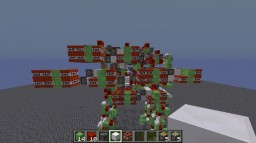 proto type redstone mech Minecraft Project