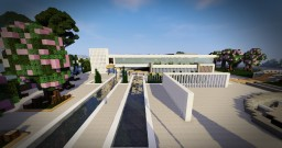 MODERN HOUSE 9 Minecraft Map & Project
