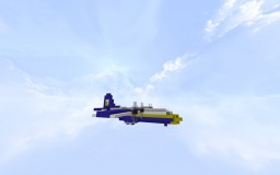 "Blue Angels C-130T ""Fat Albert"" 1:1 Minecraft Map & Project"