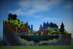 Small Beach Village Minecraft Map & Project