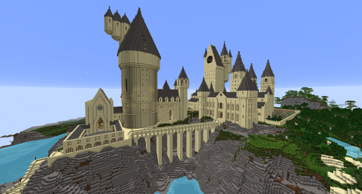 Hogwarts Castle Fully Explorable Interior Exterior