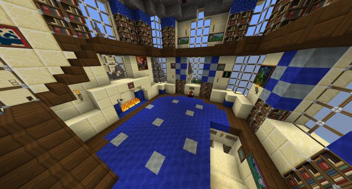 Gryffindor Common Room Minecraft Hogwarts Castle (Fully...