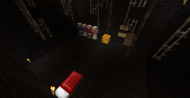 Fnaf sister location map halloween version minecraft project