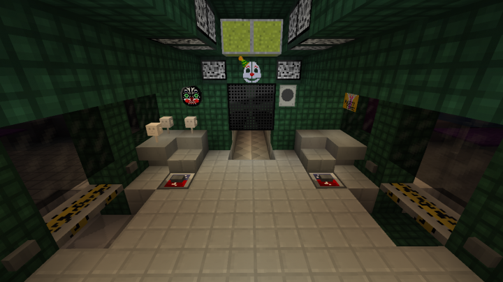 Top Five Five Nights At Freddy's Minecraft Map 1 7 10 - Circus