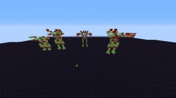 mini battle mechs (1.8+) Minecraft Project