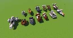 Landspeeder Pack STAR WARS Minecraft