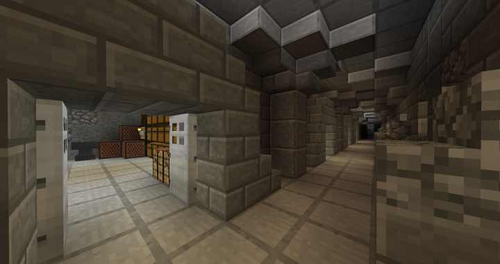 Epic Castle With Underground System Minecraft Project