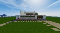 Modern House Inspired by keralis Minecraft Map & Project